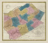Delaware County New York 1829 - Burr State Atlas