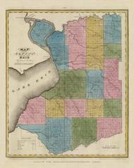 Erie County New York 1829 - Burr State Atlas