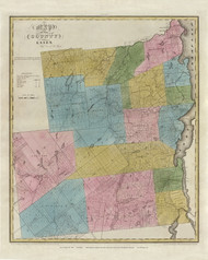 Essex County New York 1829 - Burr State Atlas