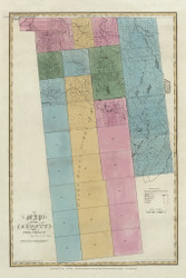 Franklin County New York 1829 - Burr State Atlas