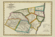 Greene County New York 1829 - Burr State Atlas