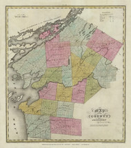 Jefferson County New York 1829 - Burr State Atlas