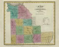 Madison County New York 1829 - Burr State Atlas