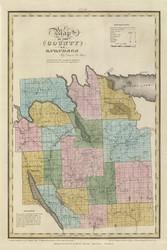 Onondaga County New York 1829 - Burr State Atlas