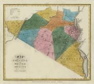Orange & Rockland County New York 1829 - Burr State Atlas