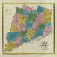 Otsego County New York 1829 - Burr State Atlas