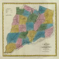Otsego County New York 1829 - Burr State Atlas