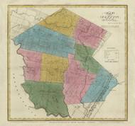 Sullivan County New York 1829 - Burr State Atlas