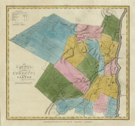 Ulster County New York 1829 - Burr State Atlas