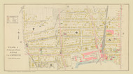 Auburn Plate 1 Wards 4,5,7, & 8, New York 1904 - Old Town Map Reprint - Cayuga Co. Atlas