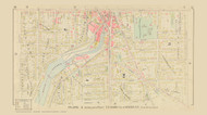 Auburn Plate 2 Wards 1,2,3,6 &10, New York 1904 - Old Town Map Reprint - Cayuga Co. Atlas