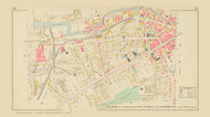 Auburn Plate 3 Wards 2,3,8 &9, New York 1904 - Old Town Map Reprint - Cayuga Co. Atlas