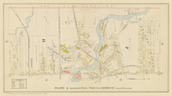 Auburn Plate 4 Wards 7 & 8, New York 1904 - Old Town Map Reprint - Cayuga Co. Atlas
