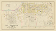 Auburn Plate 7 Wards 1-6 & 10, New York 1904 - Old Town Map Reprint - Cayuga Co. Atlas