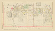 Auburn Plate 8 Wards 2-8 & 9, New York 1904 - Old Town Map Reprint - Cayuga Co. Atlas
