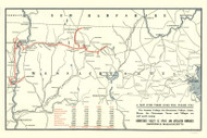 Massachusetts 1910 C. J. Peters & Son - Old State Map Reprint