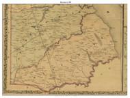 Blackbird, Delaware 1881 Old Town Map Custom Print - New Castle Co.