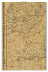 Pecander, Delaware 1881 Old Town Map Custom Print - New Castle Co.