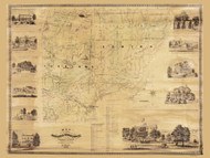 - Old Map Reprint - New York Cities Other Westchester Co.