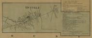 Riceville, Pennsylvania 1865 Old Town Map Custom Print - Crawford Co.