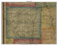 Conneaut, Pennsylvania 1865 Old Town Map Custom Print - Crawford Co.