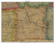 Fairfield, Pennsylvania 1865 Old Town Map Custom Print - Crawford Co.