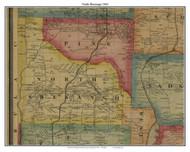 North Shenango, Pennsylvania 1865 Old Town Map Custom Print - Crawford Co.