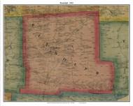 Randolph, Pennsylvania 1865 Old Town Map Custom Print - Crawford Co.