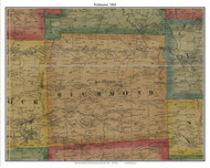 Richmond, Pennsylvania 1865 Old Town Map Custom Print - Crawford Co.