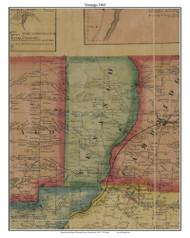 Venango, Pennsylvania 1865 Old Town Map Custom Print - Crawford Co.