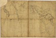 Michigan 1803 Lewis & Clark - Old State Map Reprint