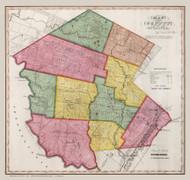 Sullivan County New York 1840 - Burr State Atlas