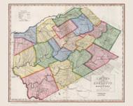Delaware County New York 1840 - Burr State Atlas