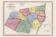 Greene County New York 1840 - Burr State Atlas