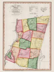 Columbia County New York 1840 - Burr State Atlas