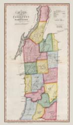 Washington County New York 1840 - Burr State Atlas