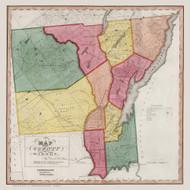 Warren County New York 1840 - Burr State Atlas