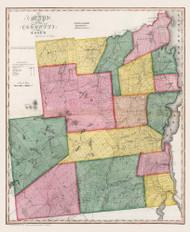 Essex County New York 1840 - Burr State Atlas