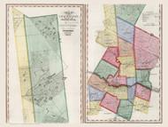 Herkimer County New York 1840 - Burr State Atlas