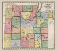 Steuben County New York 1840 - Burr State Atlas