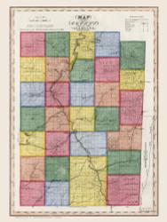 Allegany County New York 1840 - Burr State Atlas