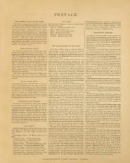 Preface 00a, Maine 1894 Old Map Reprint - Stuart State Atlas