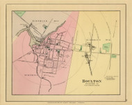 Houlton Village 17, Maine 1894 Old Map Reprint - Stuart State Atlas