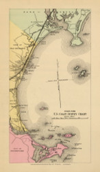 Old Orchard Village - Old Orchard Beach Custom 39, Maine 1894 Old Map Reprint - Stuart State Atlas