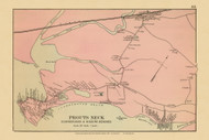 Prouts Neck Village - Scarborough Beach Higgins Beach 47b, Maine 1894 Old Map Reprint - Stuart State Atlas