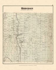 Hodgdon, Maine 1877 Old Town Map Reprint - Aroostook Co. 31