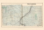 Fort Fairfield, Maine 1877 Old Town Map Reprint - Aroostook Co. 79