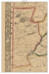 Pencader, Delaware 1849 Old Town Map Custom Print - New Castle Co.