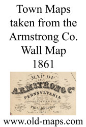Title of Source Map - Armstrong Co., Pennsylvania 1861 - NOT FOR SALE - Armstrong Co.