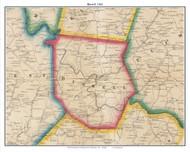Burrell, Pennsylvania 1861 Old Town Map Custom Print - Armstrong Co.